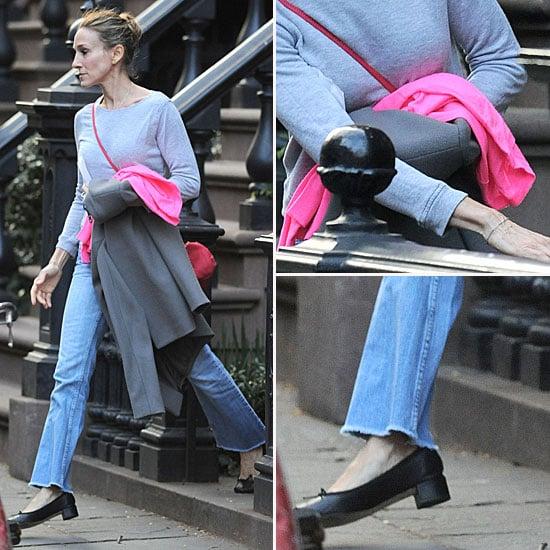 Sarah Jessica Parker Street Style March 29, 2012