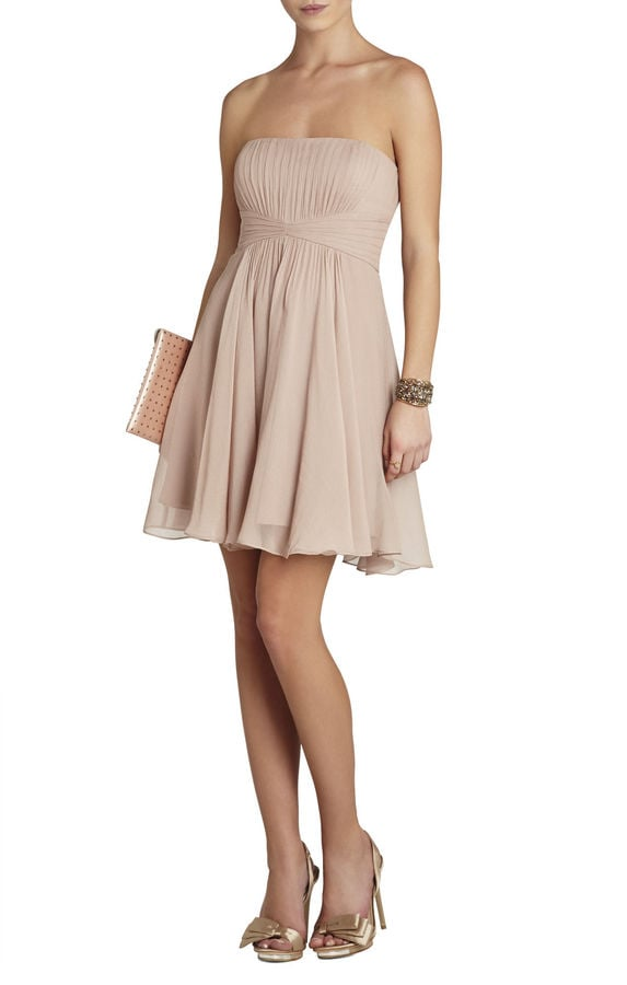 BCBG Max Azria Nude Dress