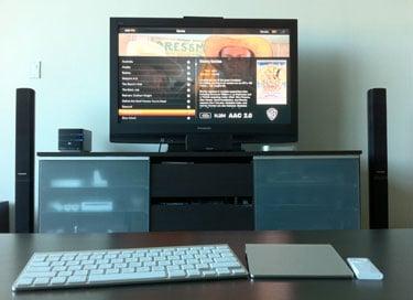Photos of the Plex Mac Mini Set Up