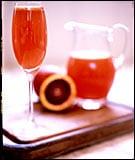 Happy Hour: Blood Orange Bellini