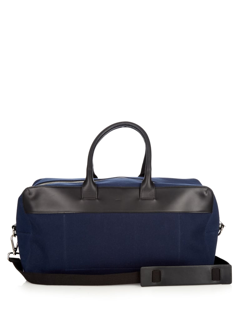 A.P.C. Xavier cotton-canvas holdall ($335)