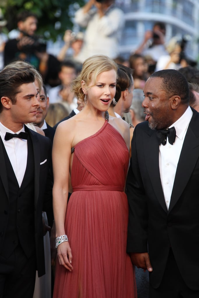 Nicole Kidman chatted with director Lee Daniels and Zac Efron.