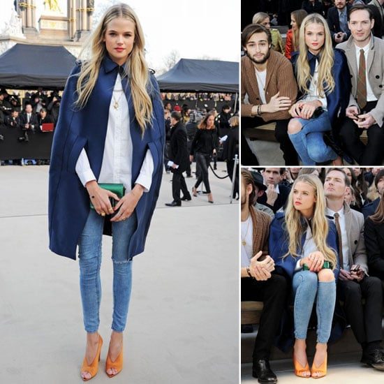 Need Now: Gabriella Wilde's Clean Rip Jeans