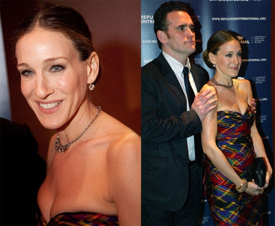 Photos of Sarah Jessica Parker and Matt Dillon Hosting the Refugees International Performance of Betrayed in Washington DC