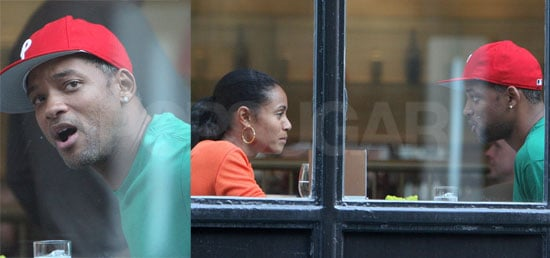 Will & Jada Break For Lunch