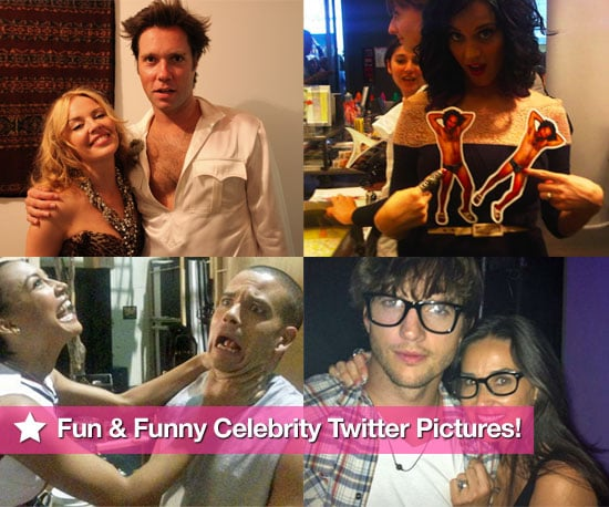 Kylie Minogue, Katy Perry, Glee Cast & More in Fun & Funny Celeb Twitter Pictures