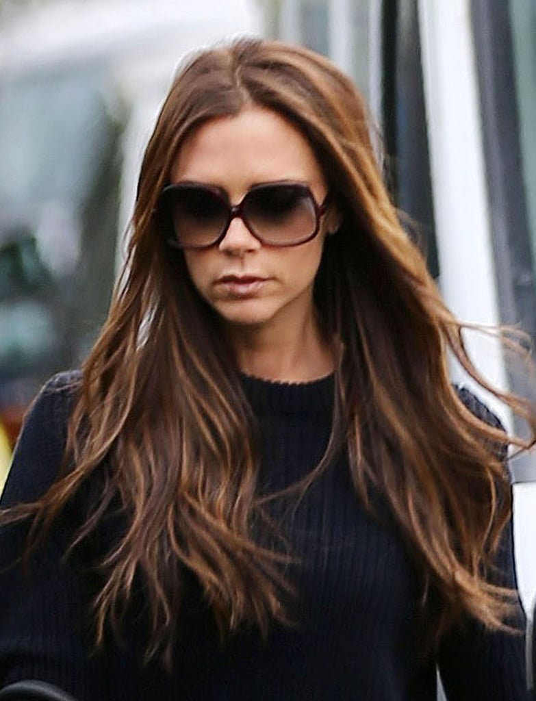 Victoria Beckham wore sunglasses while out in London.