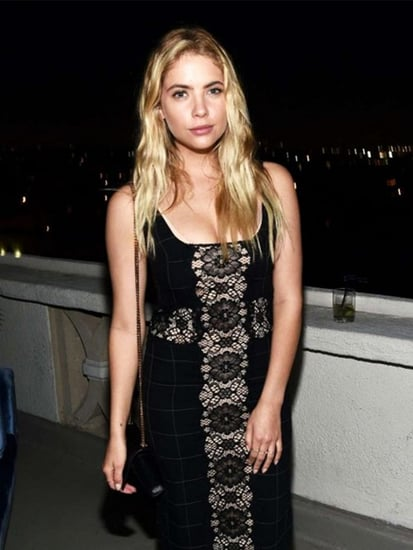 Ashley Benson's Lacy Slip Dress Is Seriously On Sale