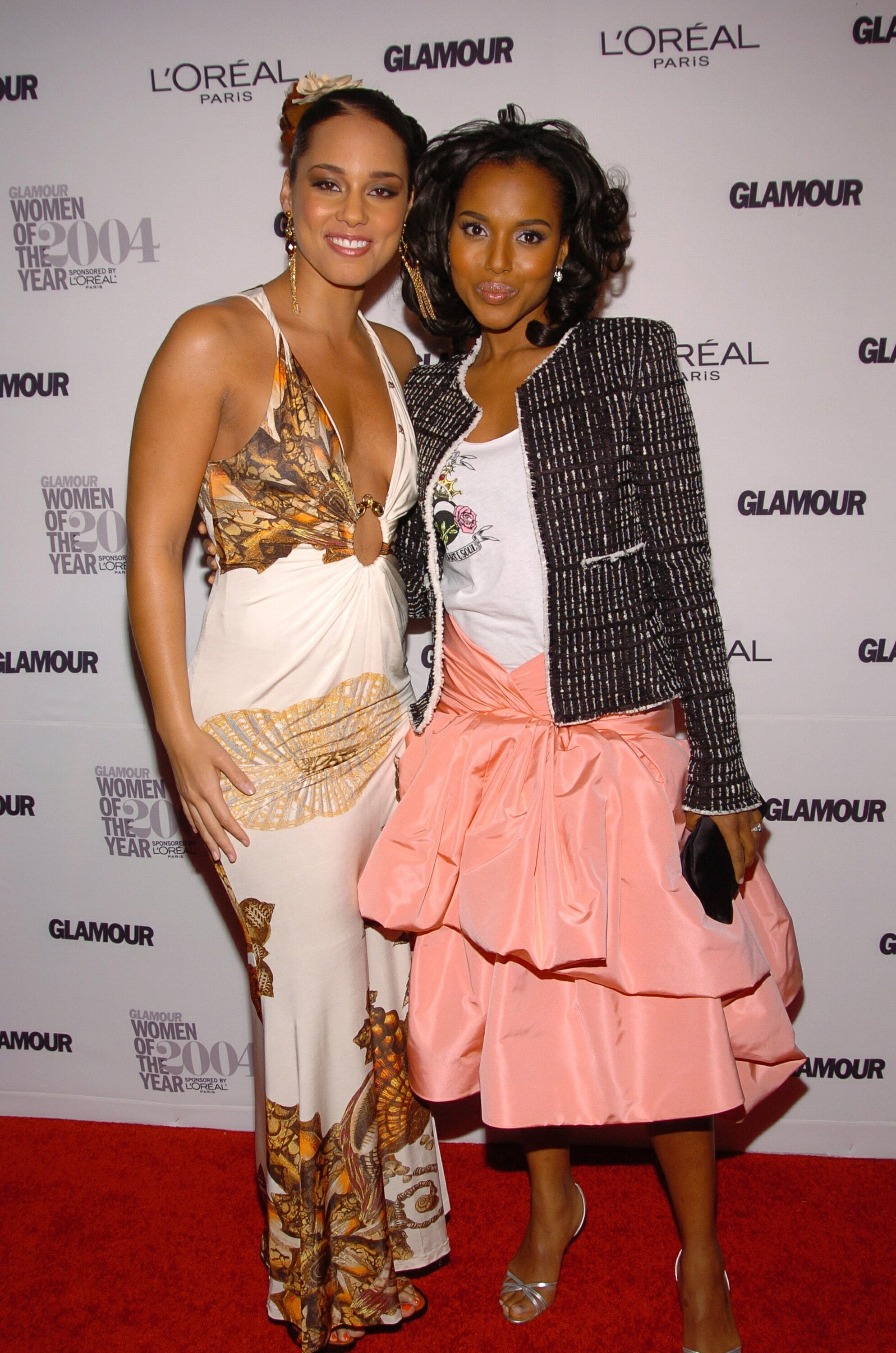 She Wears Fun Outfits With Alicia Keys