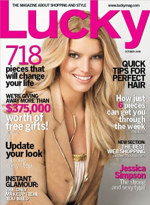 Jessica Simpson's Luck Cover Photo