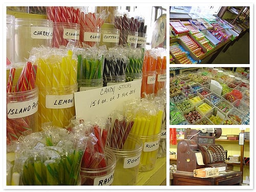Yummy Links: From Candy Stores to Generic Food