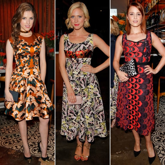 Brittany Snow at Vogue Triple Threat Dinner   Pictures
