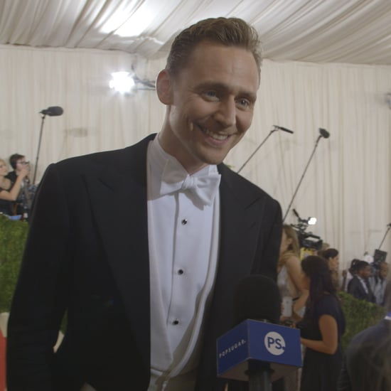 Tom Hiddleston at the 2016 Met Gala (Video)