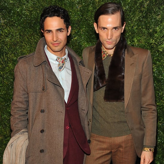 Zac Posen and Christopher Niquet