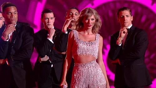 Taylor Swift Got In Some Major Fan Action