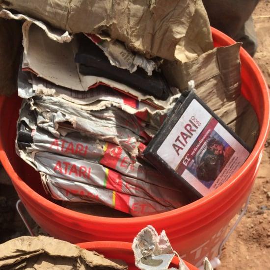 Atari E.T. Games Found in Landfill | Pictures