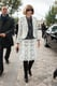 Anna Wintour, dressed in head-to-toe tweeds, arrived at Louis Vuitton in shades of monochromatic perfection.