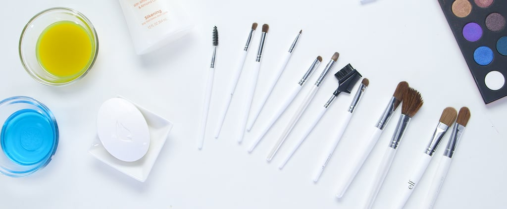 Save Your Makeup Brushes (and Your Wallet) With These Easy DIY Cleaners ​