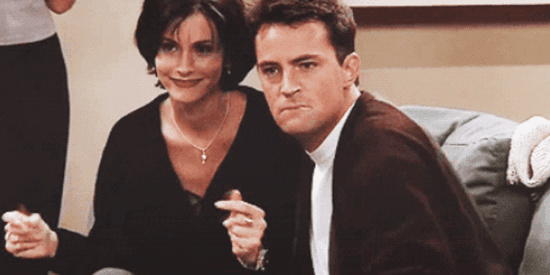 Chandler And Monica Nailed The Definition Of Consent 18 Years Ago