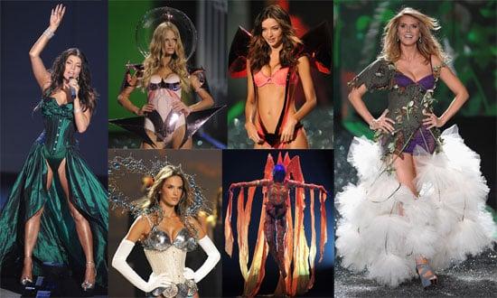 Photos of Runway and Catwalk at Victoria's Secret Show, Heidi Klum, Miranda Kerr, Marissa Miller, Selita Ebanks in Lingerie 2009-11-20 06:00:00