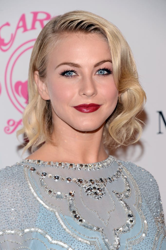This style is ace for vintage flair, and Julianne wore her locks in soft, brushed-out curls for the Carousel of Hope Ball in 2012.