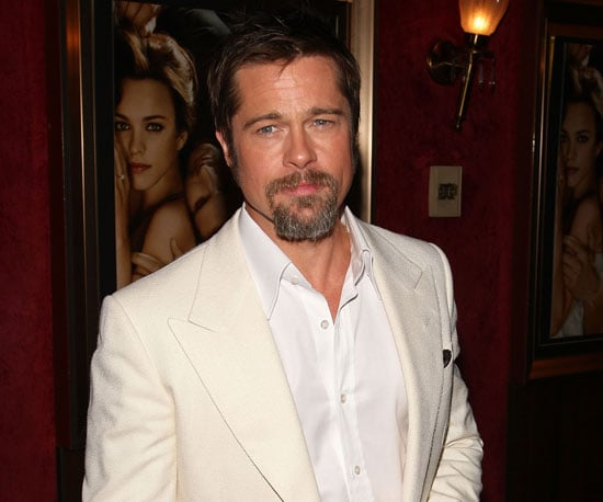 Photo Slide of Brad Pitt at the NYC Premiere of The Time Traveler's Wife