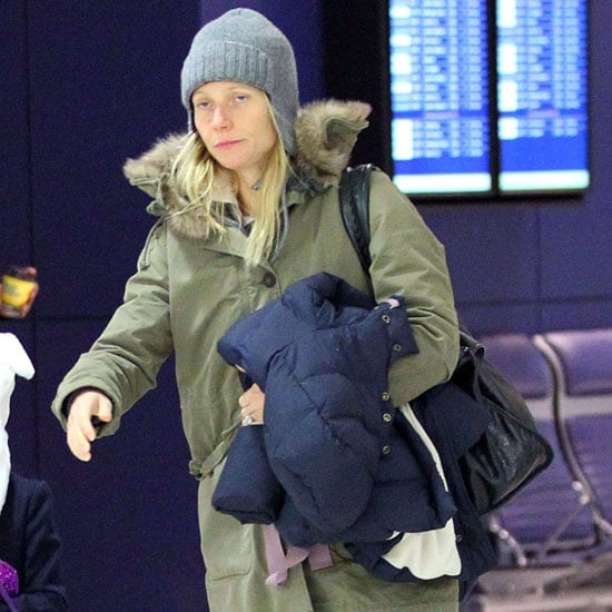 Gwyneth Paltrow Chris Martin Pictures With Apple and Moses