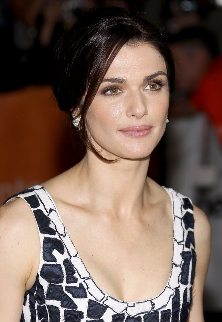 At the 2010 Toronto International Film Festival, the actress went for a classic up 'do with face-framing tendrils and a neutral makeup palette.