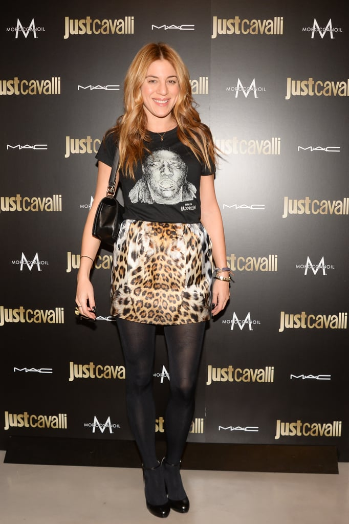 Dani Stahl at the Just Cavalli cocktail party.