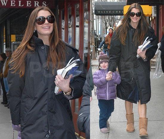 Brooke Shields and Rowan Henchy In NYC