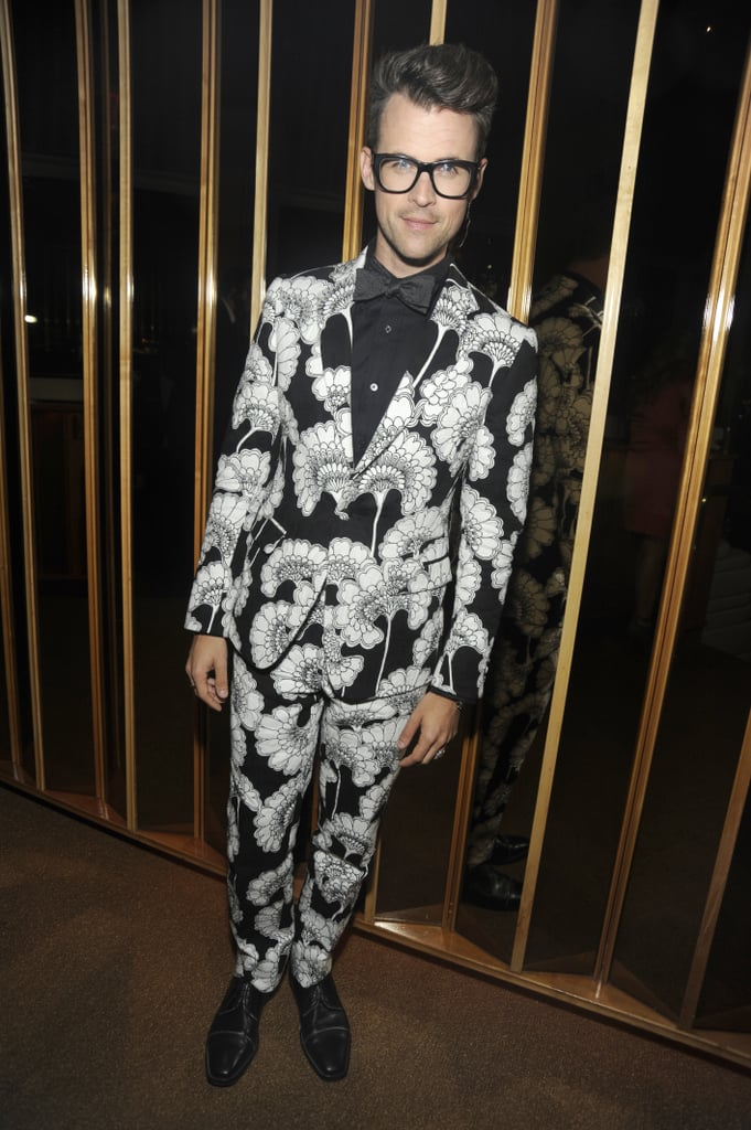 Brad Goreski donned a dapper printed suit and bow-tie at the afterparty.