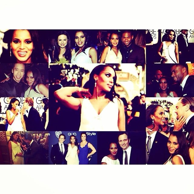Kerry Washington shared a collage from her big night. Source: Instagram user kerrywashington