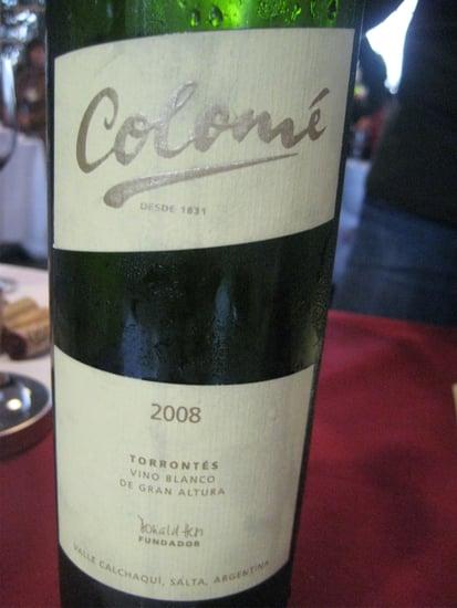 Happy Hour: 2008 Colomé Torrontés