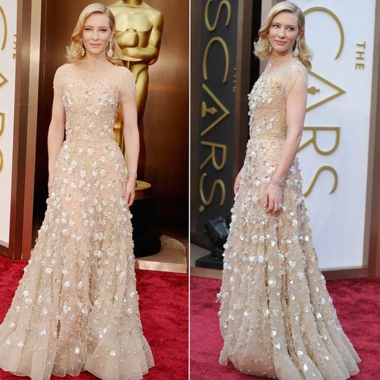 Cate Blanchett Armani Dress at Oscars 2014
