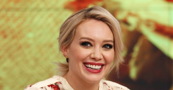 Hilary Duff Looks Like A Pageant Queen In Glamorous Childhood Throwback
