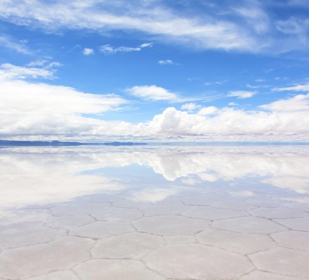 Literally Reflect at Salar de Uyuni, Bolivia