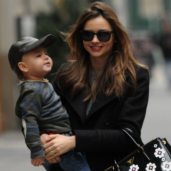 Miranda Kerr and Flynn Bloom Pictures in NYC