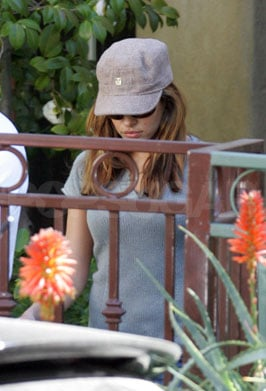 Eva Mendes Is Back in LA, But Only Momentarily