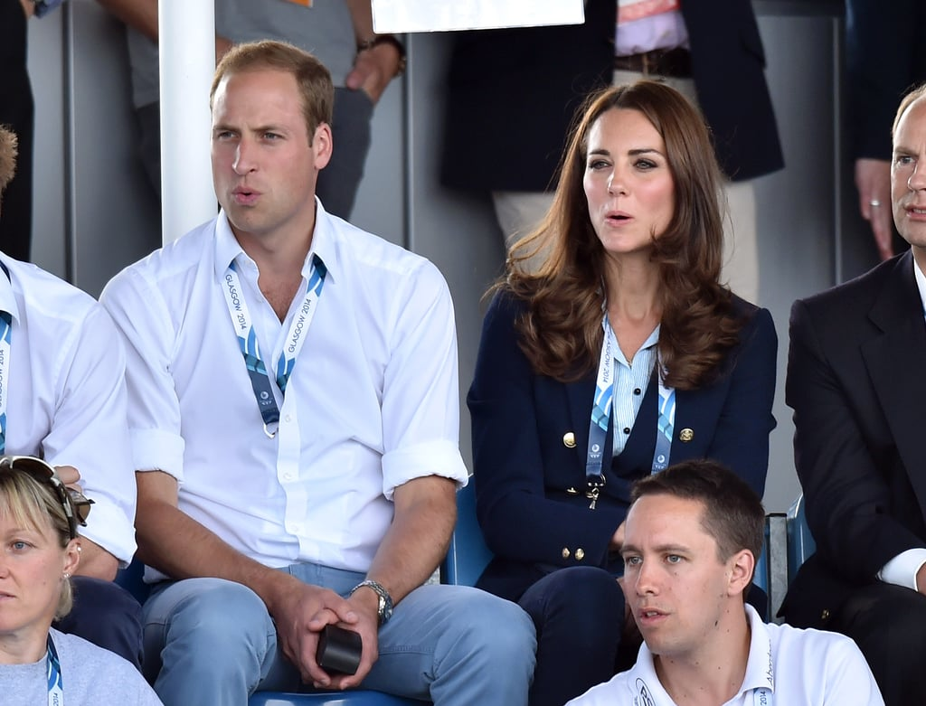 Kate Hops in Sky-High Wedges After Getting Hot With Will