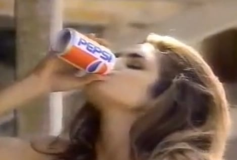 FABTV: Cindy Crawford, Pepsi Commercial