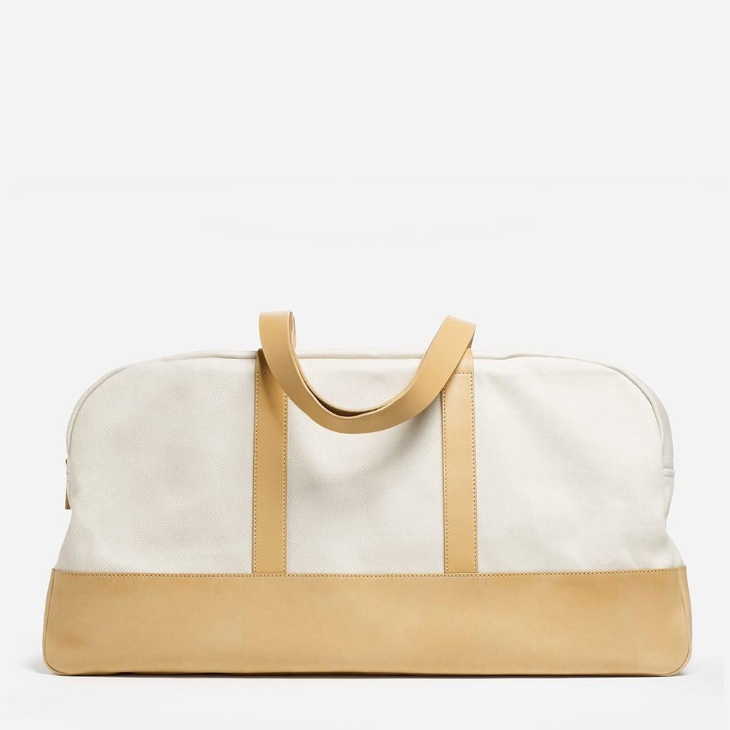 Everlane Premium Leather-Base Weekender ($130)