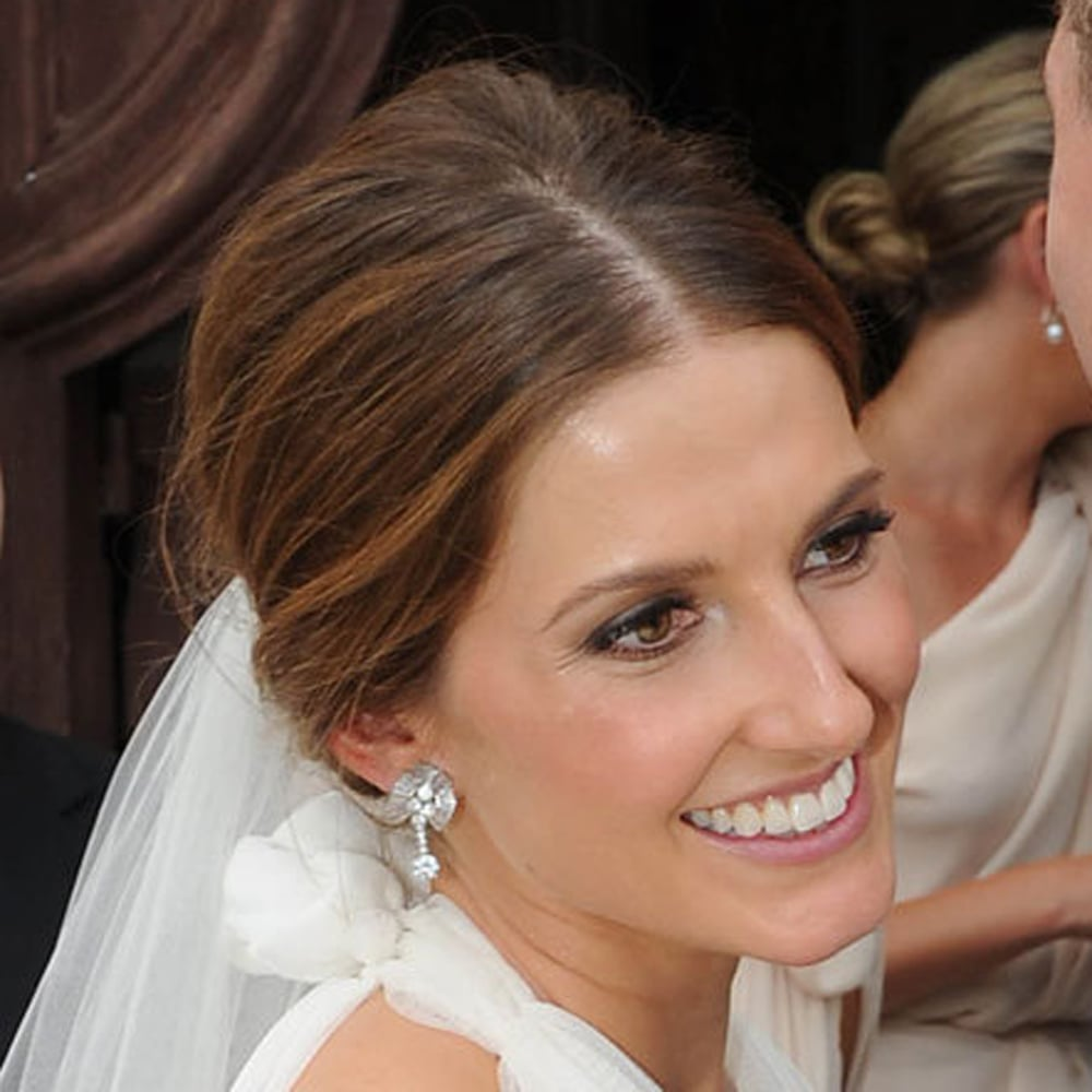 Kate Waterhouse's wedding hair and makeup was chic and minimal, which is generally the safest bet on your big day. We loved her soft pink lip, and shade that is flattering on most. Get her look at home with Napoleon Perdis Devine Goddess Lipstick in Athena ($29.76).
