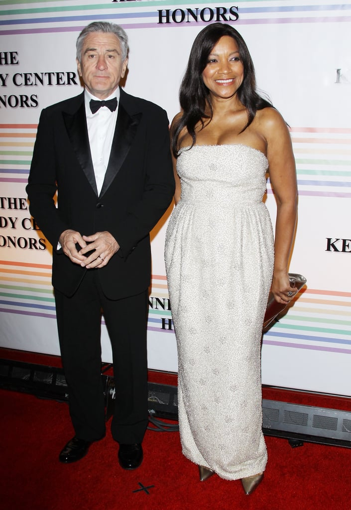 Robert De Niro and Grace Hightower arrived at the Kennedy Center Hall of States.