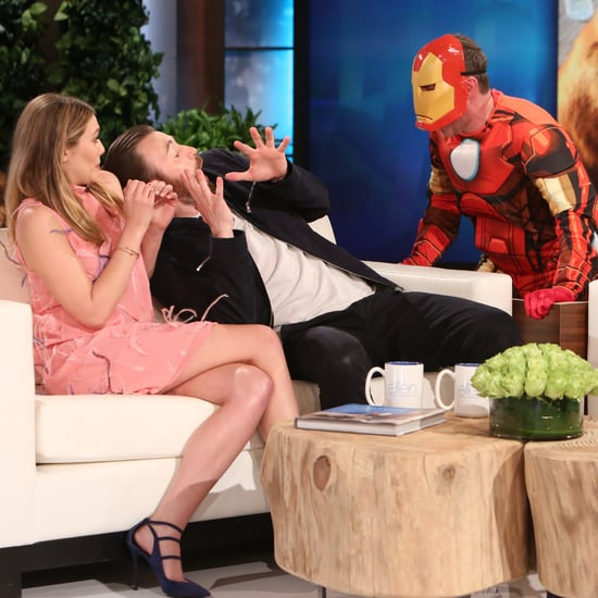 Chris Evans Scare on The Ellen DeGeneres Show May 2016