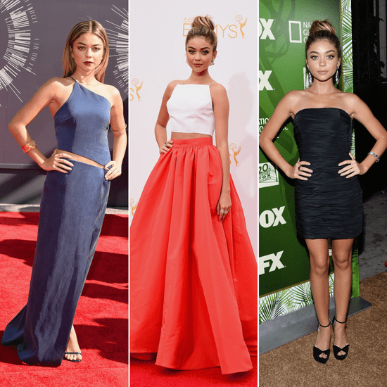 Sarah Hyland Dress at Emmys and MTV VMAs 2014