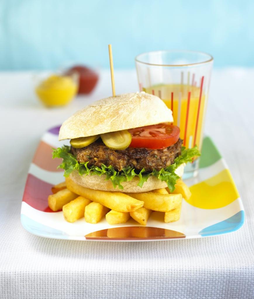 Annabel Karmel's Healthy Hamburger