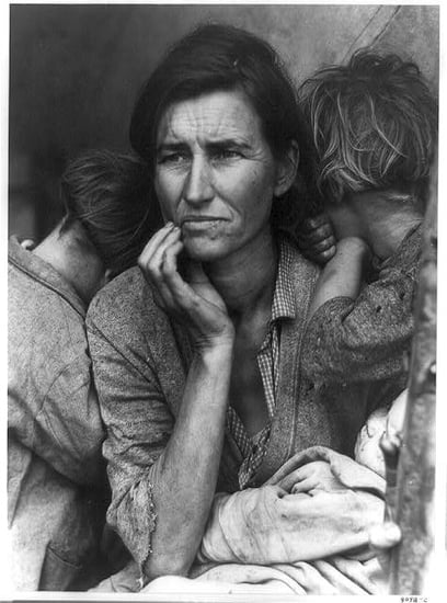 Subject From Iconic Great Depression Photo Recounts Impact