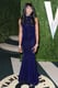 Naomi Campbell arrived at the Vanity Fair Oscar party on Sunday night.