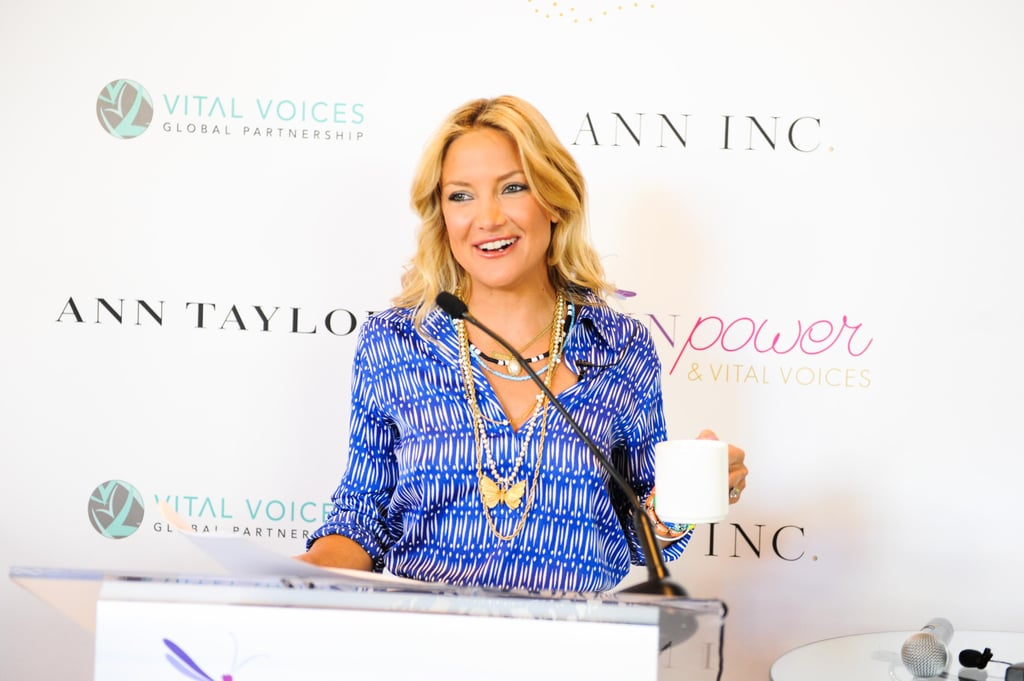 Kate Hudson gave a surprise speech at the Vital Voices Leadership Forum in Washington, DC. Source: Carly Otness/BFAnyc.com