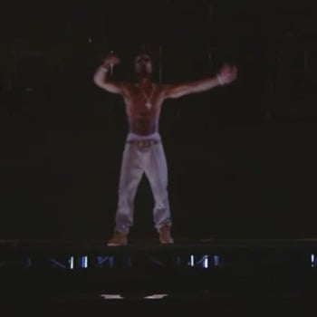 Tupac Shakur Hologram Video From Coachella 2012